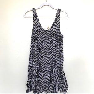 Free People Chevron Print Dress